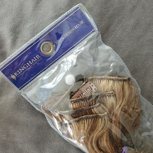 """22"""" 7Pcs 100% Human Clip-In Extensions Highlights"""